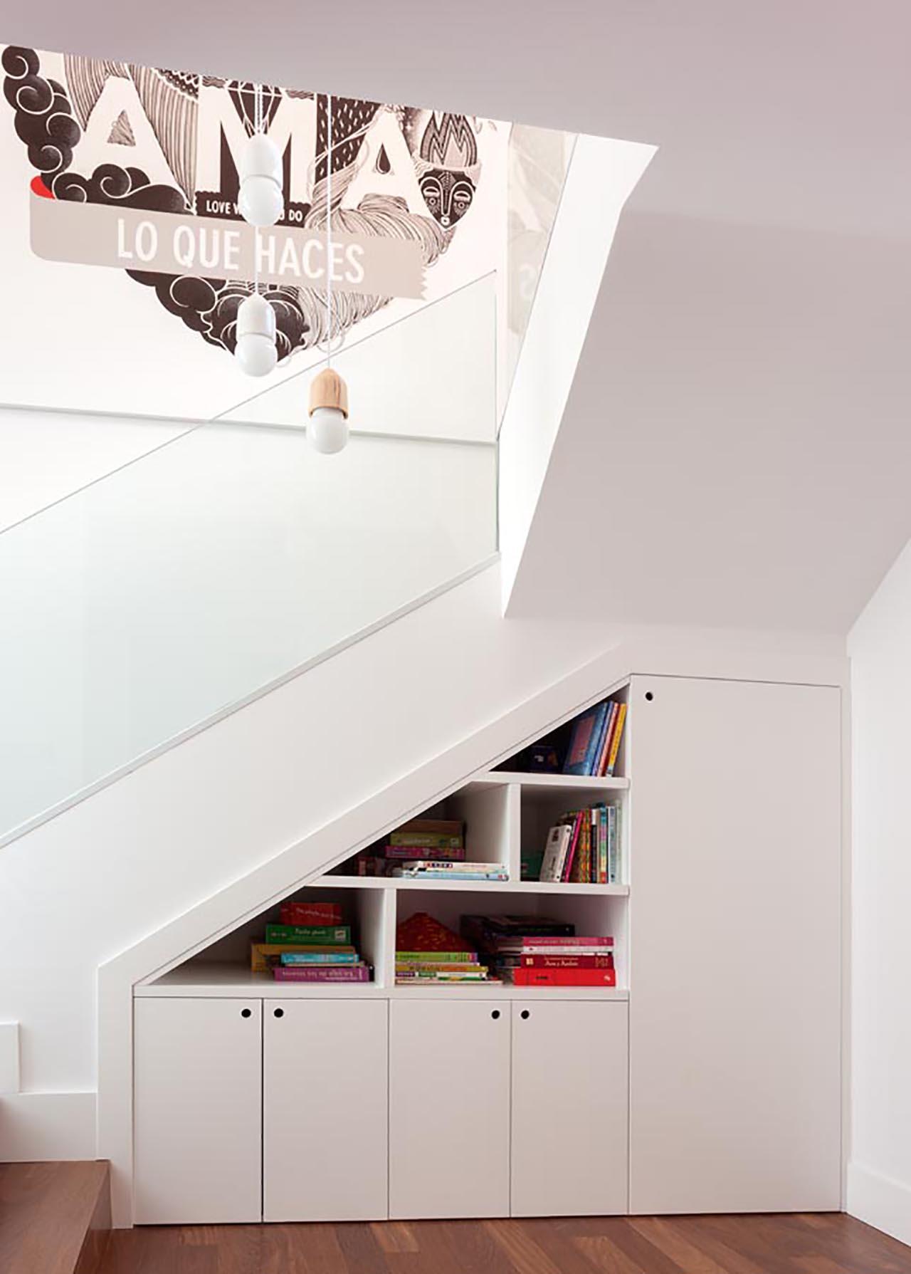 4. Zona escalera