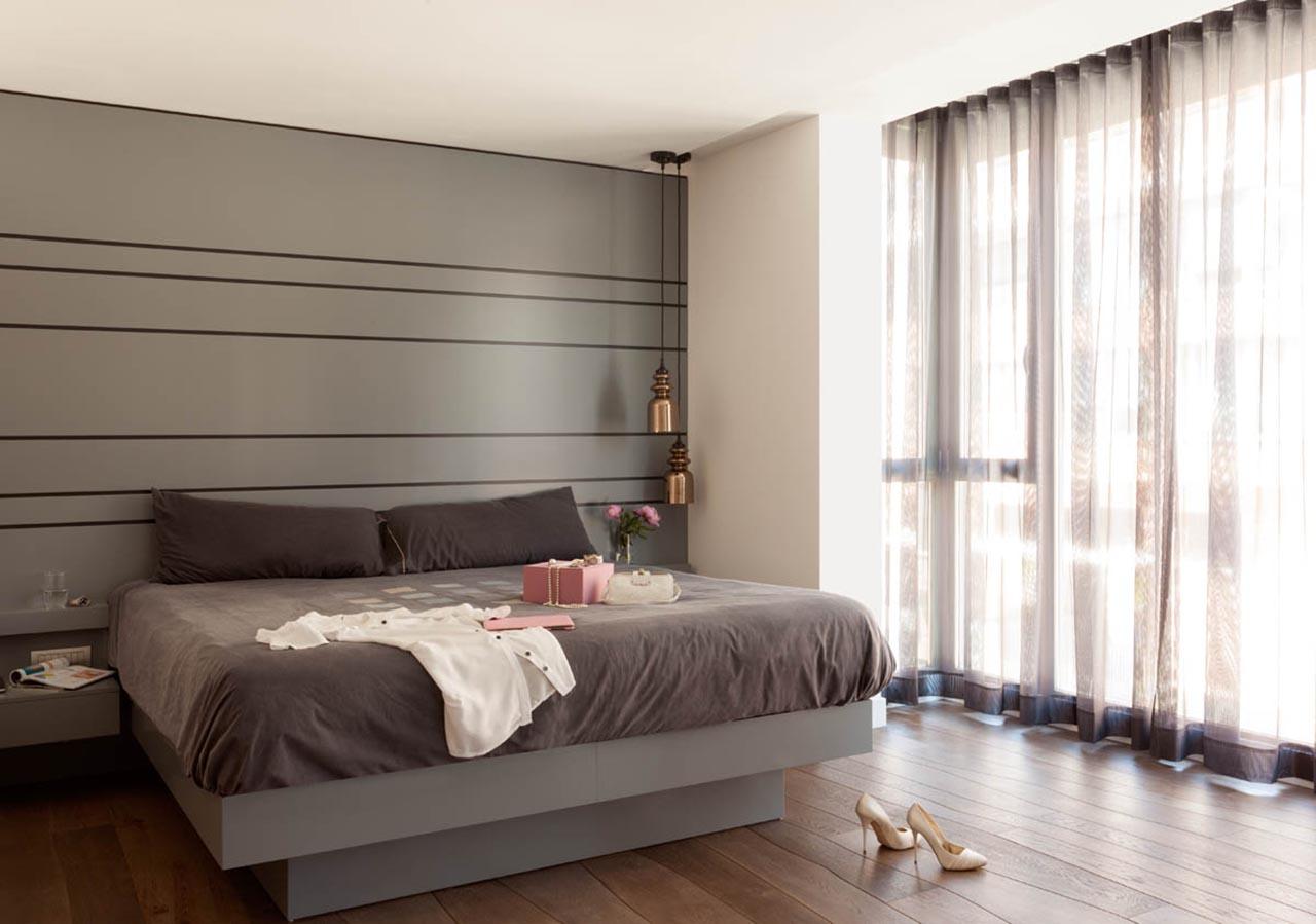 9.-Dormitorio Principal diseno cabecero